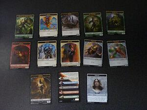 MtG Magic the Gathering Magic Origins Spielsteine Token