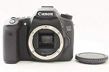Canon EOS 70D 20.2MP Digital SLR Camera Black(Body Only) with body cap USED