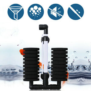 Bio Sponge Filter for Aquarium Fish Tank Up to 55 Gal with Accessories