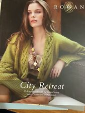 Rowan City Retreat - 17 designs for women by Martin Storey in worsted weight