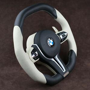 BMW custom steering wheel F10 M5 M6 F01 F02 F11 F6 F18 F07 paddle heated vibro