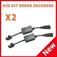 XENON HID KIT CANBUS ERROR DECODER RESISTOR CANCELLER H7 H1 H3 H11 BMW E46 E60
