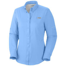 "New Womens Columbia PFG ""Tamiami"" Omni-Shade / Wick Vented Fishing Shirt"