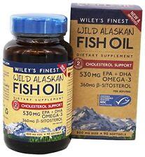 Wiley's Finest - Wild Alaskan Fish Oil Cholesterol Support 800 mg. - 90 Softgels