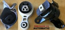 3pcSet Motor Mounts fit Engine 2.5L 2010 2011 2012 Ford Fusion Automatic Trans