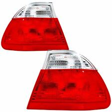 Bmw 3 Series E46 Saloon 1998-2001 Rear Light Tail Lights 1 Pair O/S And N/S