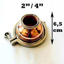 Copper Moonshine Keg Still  Reducer 2'' or 4'' Triclamp