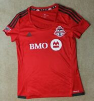 Adidas Toronto FC Soccer Jersey Womens Large MLS Red