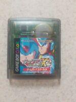 Nintendo Game Boy Color Rock Man X2 Mega Man Japan Import GBC New Save Battery