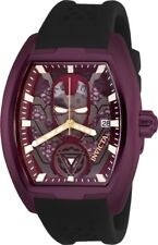 Invicta 26931 Marvel Ironman Men's 42mm Stainless Steel Burgundy Dial Automatic
