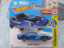 HOT WHEELS 2016 #184/250 NISSAN FAIRLADY Z Azul NEED FOR SPEED Imágenes Funda C