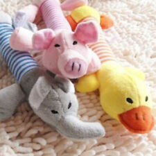 EG_ Funny Soft Pet Puppy Chew Play Squeaker Squeaky Cute Plush Sound For Dog Toy