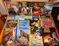 Lot of 18 National Geographic Society World Young Explorer HB books Homeschool