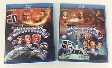 Gerry Anderson TERRAHAWKS volume 1 and 2 Bluray Sets, one still sealed (2)