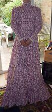 1970's Vintage Laura Ashley Edwardian Style Prairie Dress