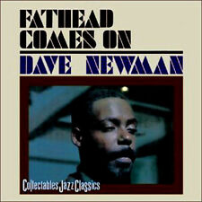 Dave ( David ) Newman ~ Fathead Comes on  NEW AND SEALED CD  JAZZ CLASSICS