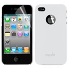 Custodia PVC Moshi Bianca + Pellicola proteggischermo/antigraffio x Apple iPhone