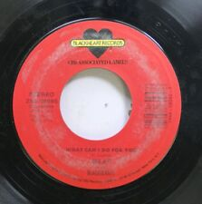 Rock 45 Joan Jett And The Blackhearts - What Can I Do For You / {} On Little Lia