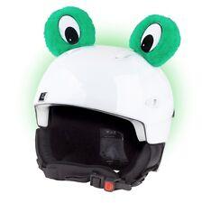 Froschaugen für Skihelm Frosch Ohren Helmet Ears Helm Frog Eyes Augen Ski Kinder