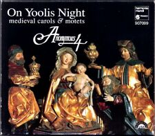 ANONYMOUS 4: ON YOOLIS NIGHT Medieval Christmas Carols CD Weihnachslieder Motets