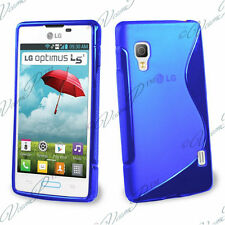 CASE COVER COVERS TPU S SILICONE GEL WALLET FILMS FOR LG OPTIMUS L5 II E460