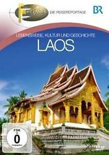 DVD Laos por Br Fernweh incl Río Mekong, francés Avenidas en el Viaje DVD