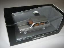 1:43 Opel Kadett C Caravan 1978 silver me MINICHAMPS 400048111 OVP new 1 of 1008