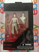 Star Wars 3.75 Black Series REY JAKKU Walmart Exclusive Force Awakens New