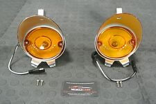 1970 Dodge Charger Turn Signal Parking Lamp Light Assembly Pair Set (2)