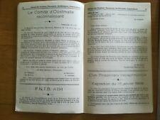 Ornithologie journal tendeurs N°1 1968 Pinsons Canari