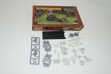 Warhammer GORTHOR BEASTMAN LORD IN CHARIOT Miniatures Unbuilt Games Workshop