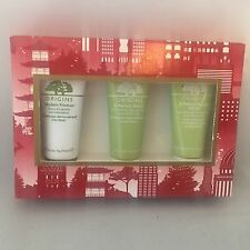 Origins Youth Protecting Power Gift Set Modern Friction Perfect World SPF 25 NIB