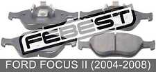 Pad Kit, Disc Brake, Front For Ford Focus Ii (2004-2008)