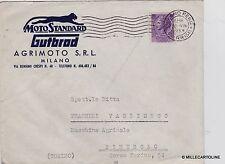 "# PUBBLICITARIA: milano- MOTO STANDARD ""GUTBROD - AGRIMOTO s.r.l."" - busta"