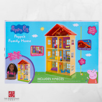 Peppa Pig Family Home Playset with 3 Figures and 10 Accessories