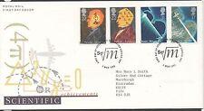 GB 1991 Scientific Achievements FDC South Kensington London postmark set stamps