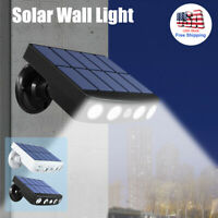 LED Solar Power Light PIR Motion Sensor Outdoor Waterproof Garden Yard Wall Lamp