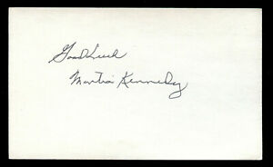 Montia Monte Kennedy (d. 1997) signed autograph Baseball 3x5 Index Card 3020-10