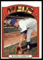 1972 TOPPS WAYNE GARRETT #518 NM-MT OR BETTER SET BREAK BLR12P1