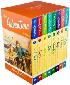 Enid Blyton Adventure series 8 Books Box Set Collection Classic   Enid Blyton