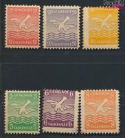 Falkensee (Berlin) 1a-6a (kompl.Ausg.) geprüft postfrisch 1945 Falke (9048870
