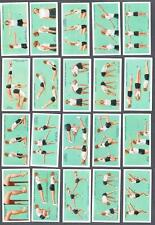1937 Lambert & Butler's Cigarettes Keep Fit Tobacco Cards Complete Set of 50