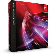Adobe Acrobat X Suite  P/N: 65086611