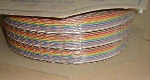 100ft REEL, 60 WAY SPECTRA STRIP Twist RIBBON CABLE 132-2802-260 127TNF2807-60