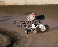 1983 STEVE KINSER #11 WORLD OF OUTLAWS WINGED DIRT SPRINT CAR AUTO RACING PHOTO