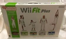 NEW Nintendo Wii Fit Plus and Balance Board Video Game Exercise Routines NIB