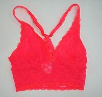 Victoria Secret Bra Bralette Solid Racerback Lace