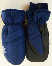BRAND NEW HEAT FACTORY SKI SNOWBOARD GLOVES MITTENS NAVY BLUE MENS LARGE