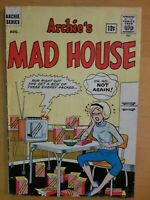 SABRINA the Teenage Witch - 1st cover appearance - Archie's Mad House #27 (1963)