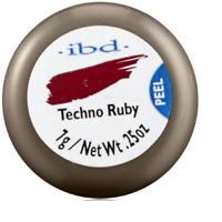 IBD Hard Gel Nail Polish #60890 Techno Ruby 0.25 Ounce